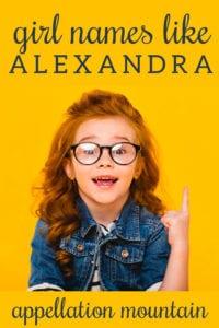 names like Alexandra
