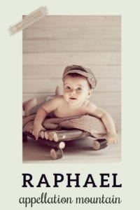 baby name Raphael