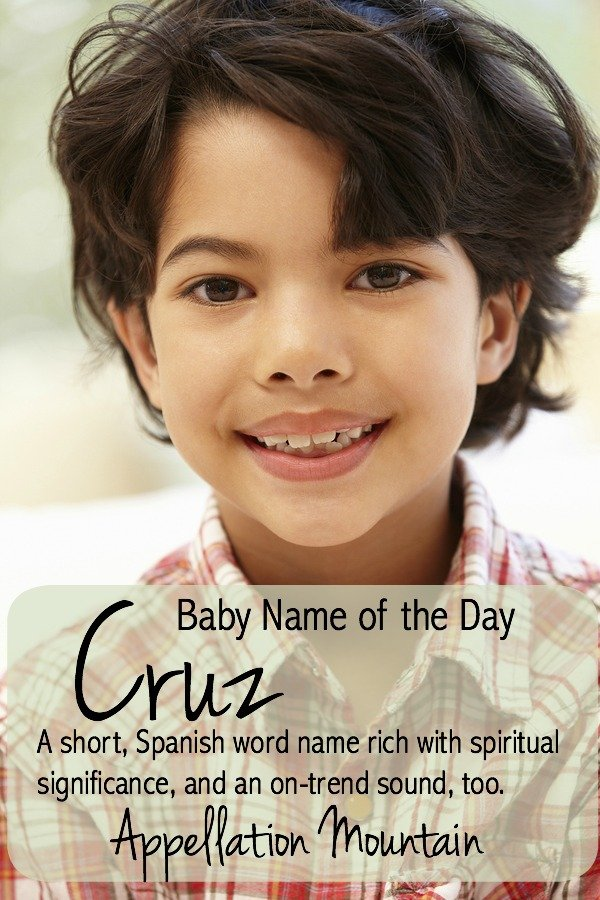 Cruz: Baby Name of the Day