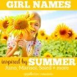 Summer Girl Names: Sunniva, Pearl, Sunny