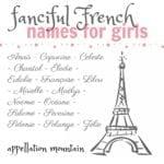 Ooh La La: French Names for Girls