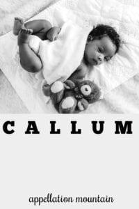 boy name Callum