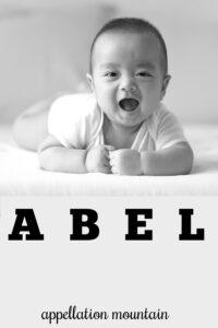boy name Abel