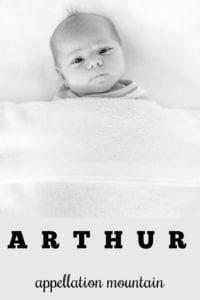 baby name Arthur