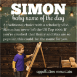 Simon: Baby Name of the Day