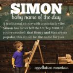 Simon: Baby Name of the Day