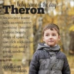 Theron: Baby Name of the Day