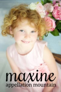 Maxine: Baby Name of the Day