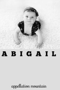 baby name Abigail