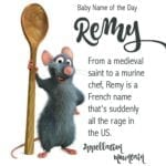 Remy: Baby Name of the Day
