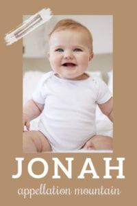 baby name Jonah