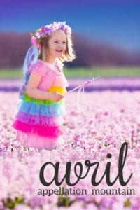 Avril: Baby Name of the Day