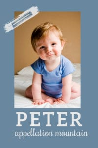 baby name Peter