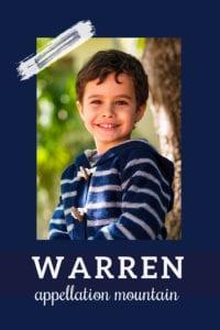 baby name Warren