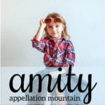 Amity: Baby Name of the Day