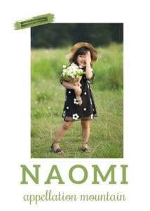 baby name Naomi