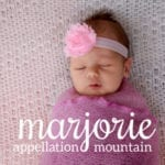Marjorie: Baby Name of the Day