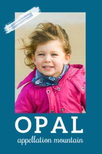 baby name Opal