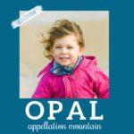 Baby Name Opal: Vintage Shimmer