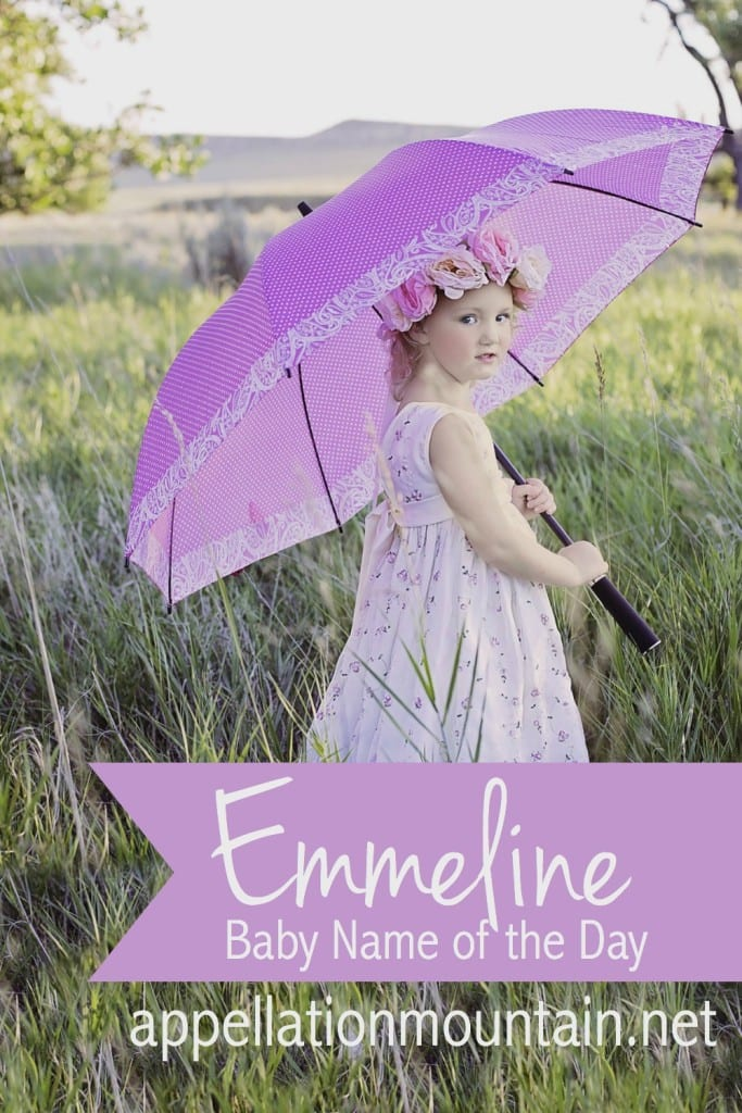 Emmeline: Baby Name of the Day