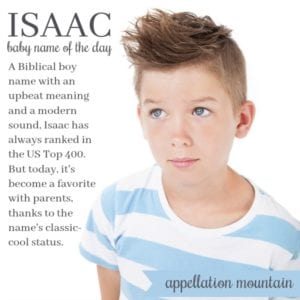 Isaac: Baby Name of the Day