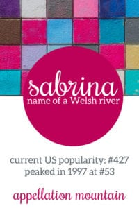 Sabrina: Baby Name of the Day