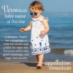 Veronica: Baby Name of the Day