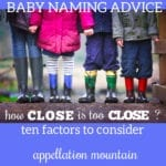 How Close is Too Close?  Ten Factors to Consider