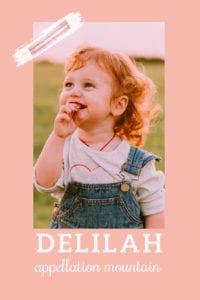 baby name Delilah