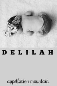girl name Delilah