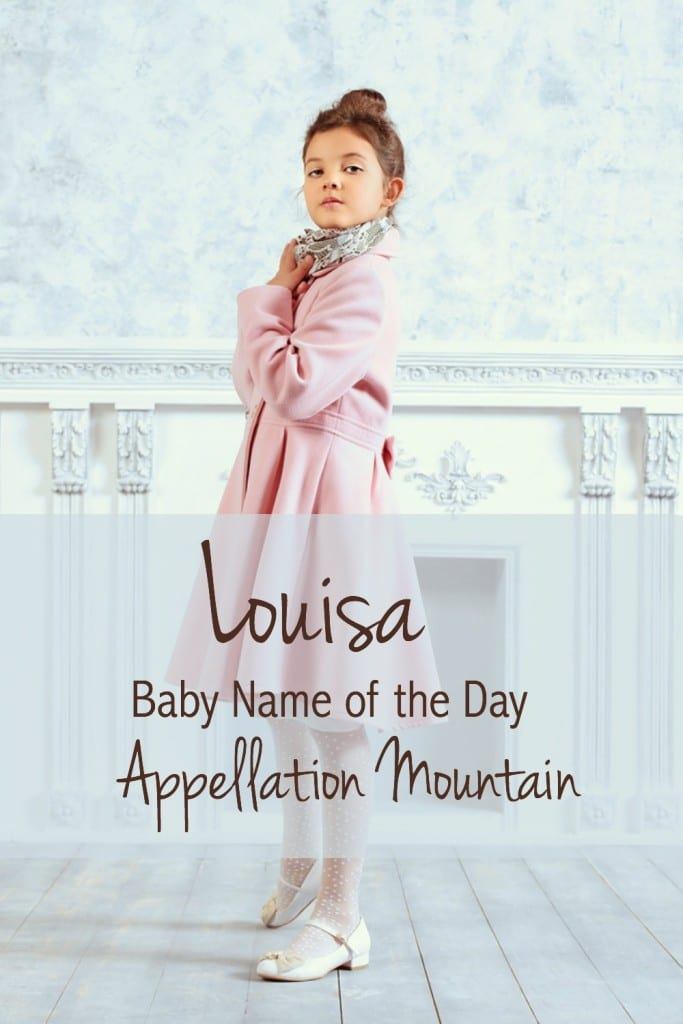 Louisa: Baby Name of the Day