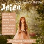 Aviva: Baby Name of the Day