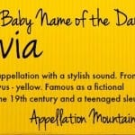 Flavia: Baby Name of the Day