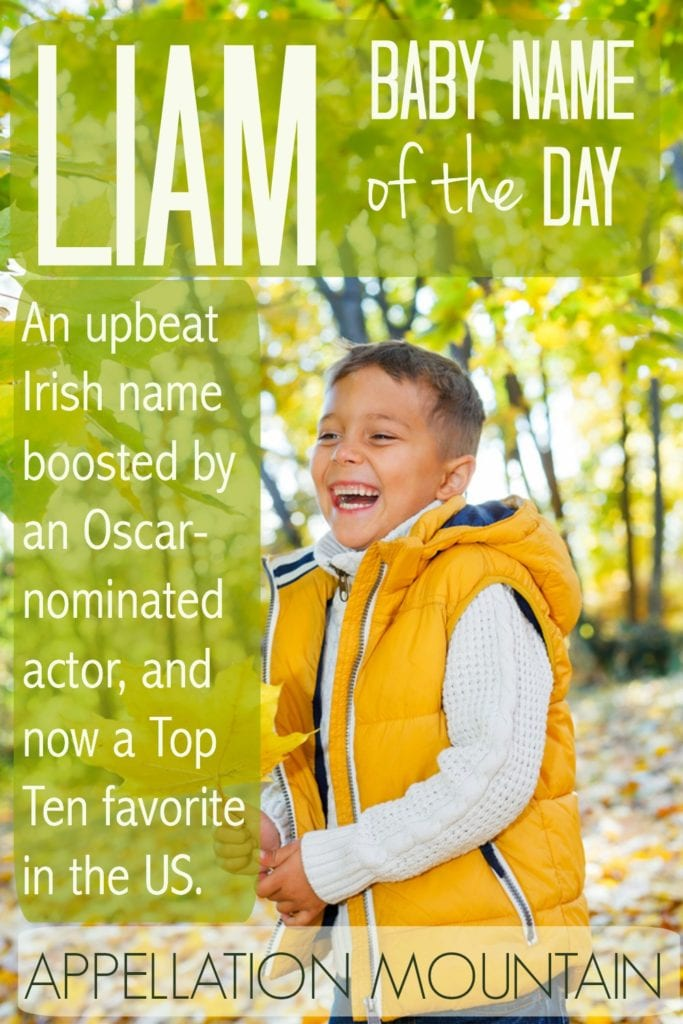 Liam: Baby Name of the Day