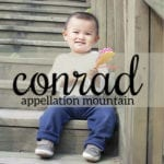 Conrad: Baby Name of the Day