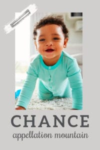 baby name Chance