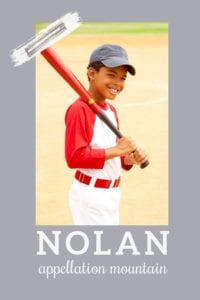 baby name Nolan