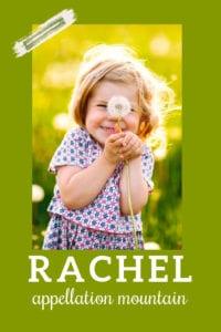 baby name Rachel
