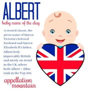 Albert: Baby Name of the Day