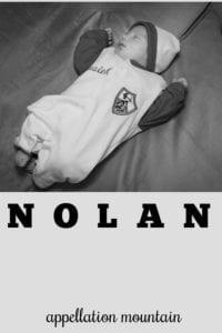 boy name Nolan