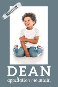 baby name Dean