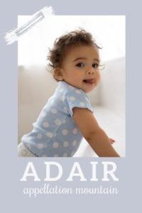 baby name Adair