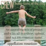 Crew: Baby Name of the Day