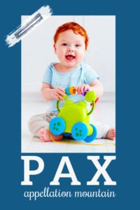 baby name Pax