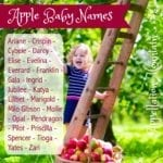 Apple Baby Names: Lilibet, Milo, and Yates