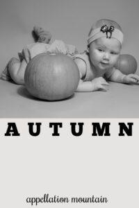 baby name Autumn