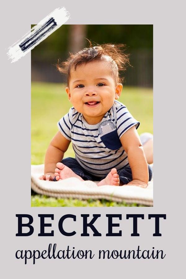 Baby Name Beckett: Stylish Literary Pick