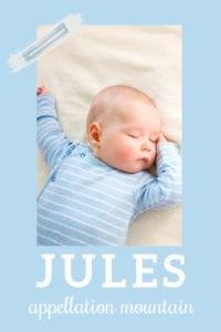 baby name Jules