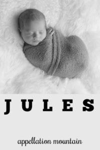 boy name jules