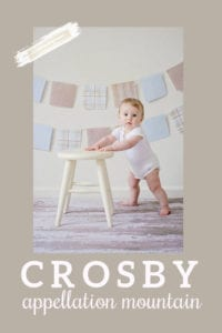 baby name Crosby